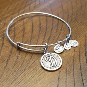 Alex and Ani bracelet- D